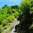 中房渓谷の滝  一ノ瀬の滝