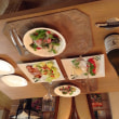 今日の海鮮サラダとカプレーゼ