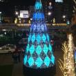 長崎駅のクリスマスツリー