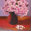 桜を描く・・・。