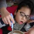 調理実習「オレンジチョコムース」