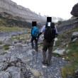 ピレネー山小屋縦走トレッキング;第7日目(1);ゴリッツ小屋からグランダスデルソアゾへ