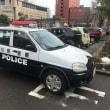 石川県のPOLICEパトカーを間近に見た