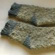 手編みの靴下NO3