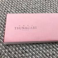 お世話になった人から頂いた、TUNAGARIオーダーメイドのゴルフグローブが出来ました。。