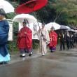 雨降る中のも、例大祭は盛大に終わった!!