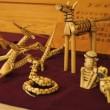 栃木県鹿沼市の郷土玩具 「きびがら細工」 2018年5月26日