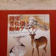 国宝雪松図と動物アート 三井記念美術館