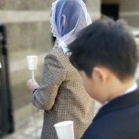 2月2日の御浄めの祝日のロウソク行列の写真をご紹介します。