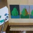 古典技法による「写実絵画」は、補色関係で進む
