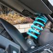 HNTオリジナル スポーツローダウンサスペンション 新発売!SP401試乗車に装着