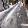 雪があった東京