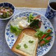 ワンプレート朝ごパン~♪