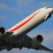 新777&現747政府専用機が飛ぶ今だけの光景