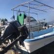 先週末の進水艇