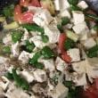 豆腐インゲンカレー
