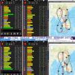 2018/09/23-09/24: 秋分静止軌道太陽同期!S-Que,最大24機GNSS受信Zenfone3 Laserカナリア機, IGSO/QZSS軌道モニタリング記録