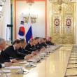 「朝鮮半島とユーラシアが共に繁栄できるよう、意思疎通と協力を強化していくことにした」