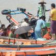 次々刻々~インドシナ「ミャンマーヤンゴン」へ~小舟から・・列車へ