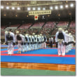 日本拳法最大の大会が大阪市中央体育館でありました