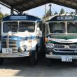 ボンネットバスと足尾山