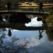 六義園 人気NO.1の大岩橋 「渡月橋」