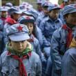 赤を多用する現代中国「伝統ではなく、血を好む共産党の宣伝」