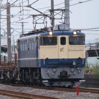 11月9日 高崎線神保原駅付近にて、工臨返空、235系配給他を撮影