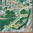 砂川決壊で浸水750ヘクタール 真備に次ぐ規模。岡山県調査。浸水範囲地図。(砂川は岡山市の旭川の放水路・百間川の支流)