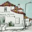 1617.サント・アントニオ・ド・アルヴァの町角