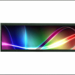 長方形 超細長液晶モニターにタッチパネル付新登場