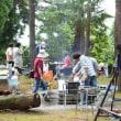 蕎麦の種まき 風の駅いでたに 今年度1回目のイベント 平成29年8月19日(土)