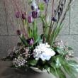 記念病院の花