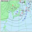 11月21日 アメダスと天気図。