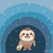 ナマケモノの旅6 雨が降り出した・・