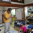 6月24日は熊取から小学生が体験で来られました「鬼」つくり