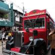 初めての3人旅行 6〈見晴らし台、しげの屋、再び赤いバス〉