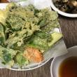 今夜は野菜の天ぷら