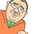 笑福亭鶴瓶師匠のものまねをするTKO木下隆行さんの似顔絵