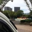川崎市幸区にて「公園脇で時間調整」