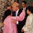 トランプ米大統領を不愉快にさせた韓国の晩餐会