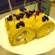 バースデーロールケーキ