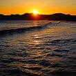 『夕焼け』 照ヶ崎海岸