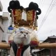 川之江秋祭り2017 移動中