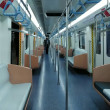 開業したばかりの地下鉄で 朱家角から上海へ