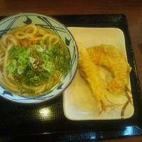 丸亀製麺で昼食