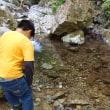 払沢の滝で避暑