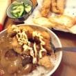 夜ご飯カレーササミカツ