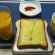 今日の朝食です(和風)