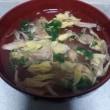 舞茸スープ♪